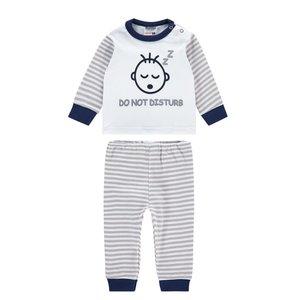 Baby Pyjama Do not Disturb Grey