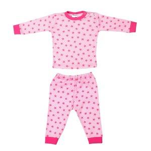Baby Pyjama streep/ster Roze