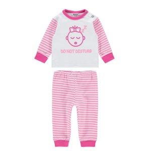 Baby Pyjama Do not Disturb Roze